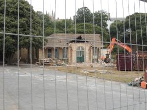 Eliz Hall Demolition 2